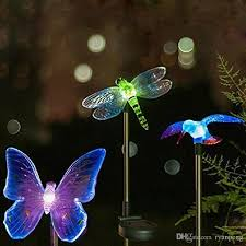 butterfly solar lights hardware home improvement