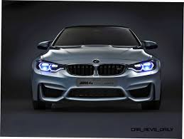 bmw laser headlights bmw m4 concept iconic lights