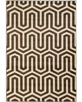 Zig Zag Area Rug Deal Alert Trio Collection Zigzag Area Rug Gray Yellow 8 U0027 X 10 U0027