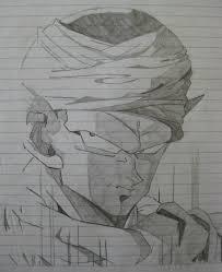 dragon ball z piccolo sketch by esperino on deviantart