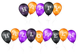 happy halloween text png halloween balloons cliparts cliparts zone