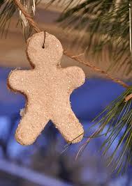 glittermen pumpkin pie scented salt dough ornaments