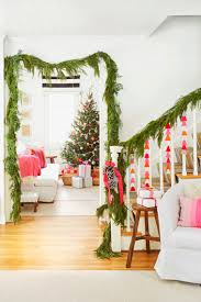 Christmas Banister Garland Ideas 80 Diy Christmas Decorations Easy Christmas Decorating Ideas