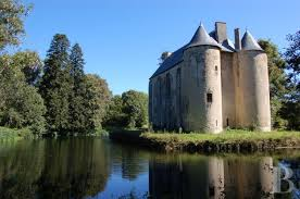 House With A Moat Castle For Sale
