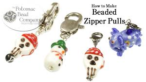 How to Make Beaded Zipper Pulls
