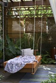 outdoor floating bed stunning floating bed frame plans with nice teak outdoor for concept