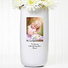 Vase On Sale Personalized Stoneware Photo Flower Vase
