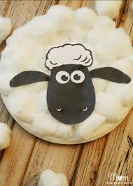 cardboard sheep template 28 images animal crafts teaching nook