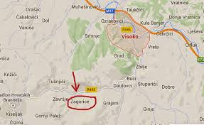 Bosnia Map An American In Bosnia New Pyramids Discovered In Bosnia April 12