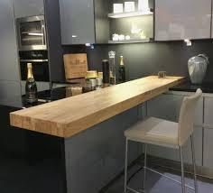 cuisine design bois lovely plan de travail bar cuisine un snack dans