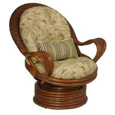 upholstered swivel rocker chairs upholstered swivel rocker by palm springs rattan wolf and