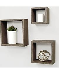 Driftwood Floating Shelves by Spring Special Kiera Grace Cubbi Contemporary Floating Wall
