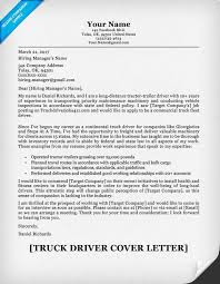 cover letter for bus driver job cover letter templates truck