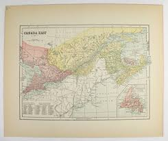 map of east canada 408 best antique canada maps images on vintage cards