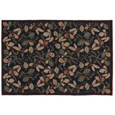 Forest Rug Forest Floor Hooked Wool Rug 6 X 9