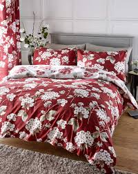 Red Duvet Set Bedding Sets Single Double King U0026 Super King J D Williams