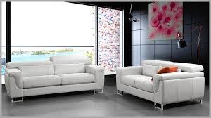 canap cuir 2 places pas cher extraordinaire canape blanc cuir design accessoires 957116 canapé