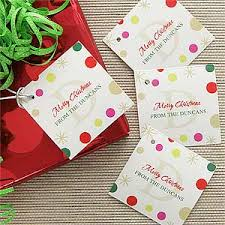 personalized christmas gifts personalized gift tags festive monogram