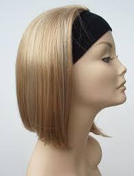 headband wigs mid length silky bob natural straight headband half wigs aliwigs com
