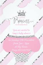 baby shower invites for girl baby shower invitations party invites ebay