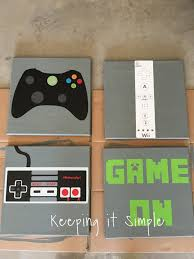 boys u0027 game room bedroom decor xbox and nintendo controller
