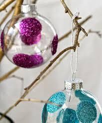diy glitter ornaments helloglow co