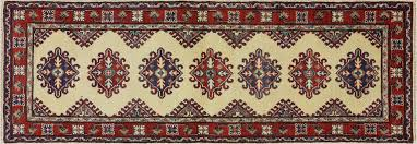 rug runners 2 x 6 new traditional ivory kazak runner 2x6 knotted wool