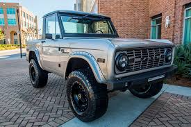 bronco car classic ford bronco restorations velocity restorations