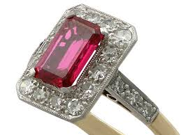 ruby rings sale images Antique synthetic ruby ring dress rings for sale ac silver jpg