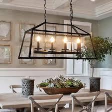 Black Chandelier Lamps Discount Retro Rustic Wrought Iron Black Chandelier Light