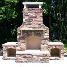 How To Build A Stone by How To Build A Stone Outdoor Fireplace Miller Fireplace Project