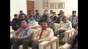gujarat cm meets members of gujarat scout guide association in
