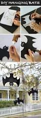 halloween kids u0027 craft hanging foam bats homemade halloween