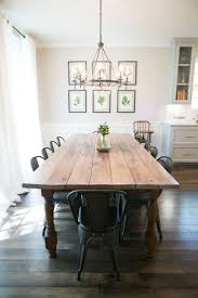 furniture farm style dining table with bench farmhouse room
