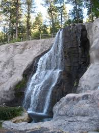 New Mexico waterfalls images Ruidoso nm waterfall at cattle baron restaurant in ruidoso jpg