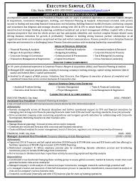 Mis Resume Samples by Resume Objectives Finance