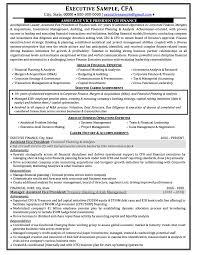 Quantitative Analyst Resume Treasury Analyst Resume Template