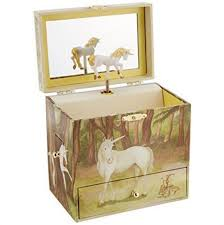 Unique Music Box Amazon Com Child U0027s Unicorn Musical Jewelry Box Toys U0026 Games
