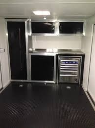 race car trailer cabinets race trailer cabinets work pinterest cargo trailers enclosed
