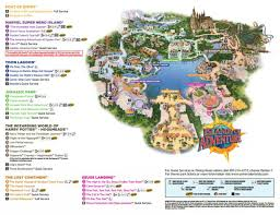 harry potter adventure map maps of universal orlando resort s parks and hotels