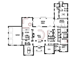 4 bedroom open floor plans unique open floor plans threebedroom custom 4 bedroom 6000 sf