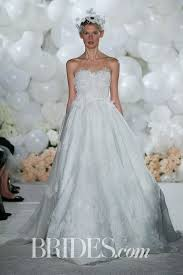 green wedding dress 61 colored wedding dresses from bridal fashion week brides
