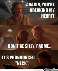 Anakin Meme - i love these anakin padme memes does that make me evil wait