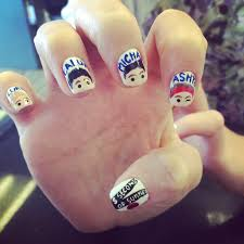 5 seconds of summer nail art designs fashion pinterest