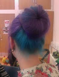 dye bottom hair tips still in style 49 best hair half half images on pinterest colourful hair