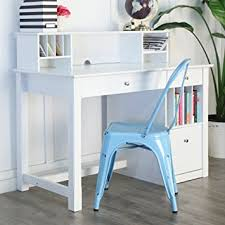 Desks With Hutches Storage We Furniture White Wood Deluxe Storage Computer Desk