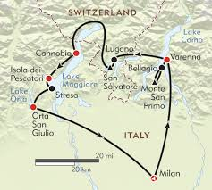 Portofino Italy Map Italy U0027s Lake District Itinerary U0026 Map Wilderness Travel