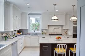 groutless tile backsplash kitchen traditional with maple cabinets