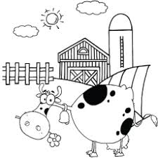 Top 10 Farm Coloring Pages Your Toddler Will Love To Color Farm Color Page