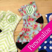 personalized socks monogram socks custom made personalized gifts